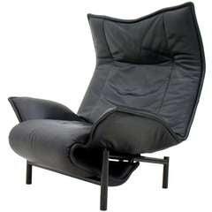 """Lounge Chair by Vico Magistretti """"Veranda"""", Cassina, Italy"""
