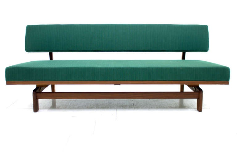 Daybed / Sofa by Hans Bellman, 1964 In Excellent Condition For Sale In Frankfurt / Dreieich, DE