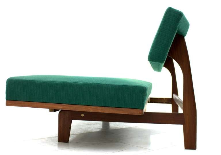 Fabric Daybed / Sofa by Hans Bellman, 1964 For Sale