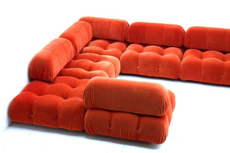 very large camaleonda sofa group by mario bellini at 1stdibs. Black Bedroom Furniture Sets. Home Design Ideas
