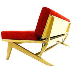 Daybed / Sofa by Domus Germany, 1950s