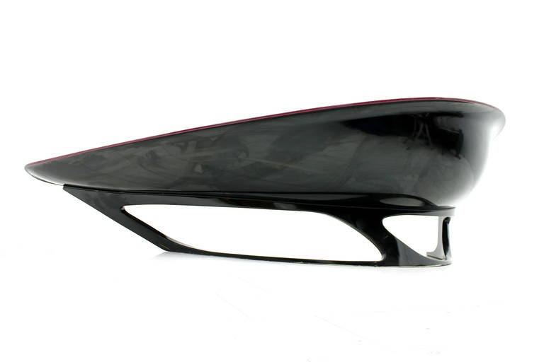 Stefan Sterf Ecstasy Fiberglass Boomerang Bench Germany, circa 1990s For Sale 4