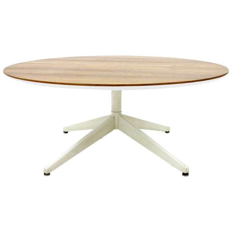 George Nelson Rosewood Coffee Table Herman Miller For Sale At 1stdibs