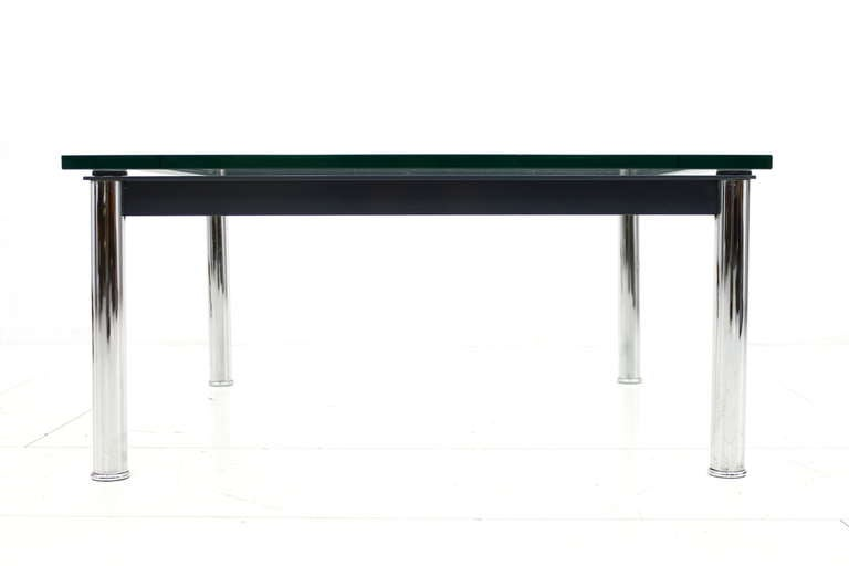 Small Sofa Table By Le Corbusier LC 10 Cassina At 1stdibs