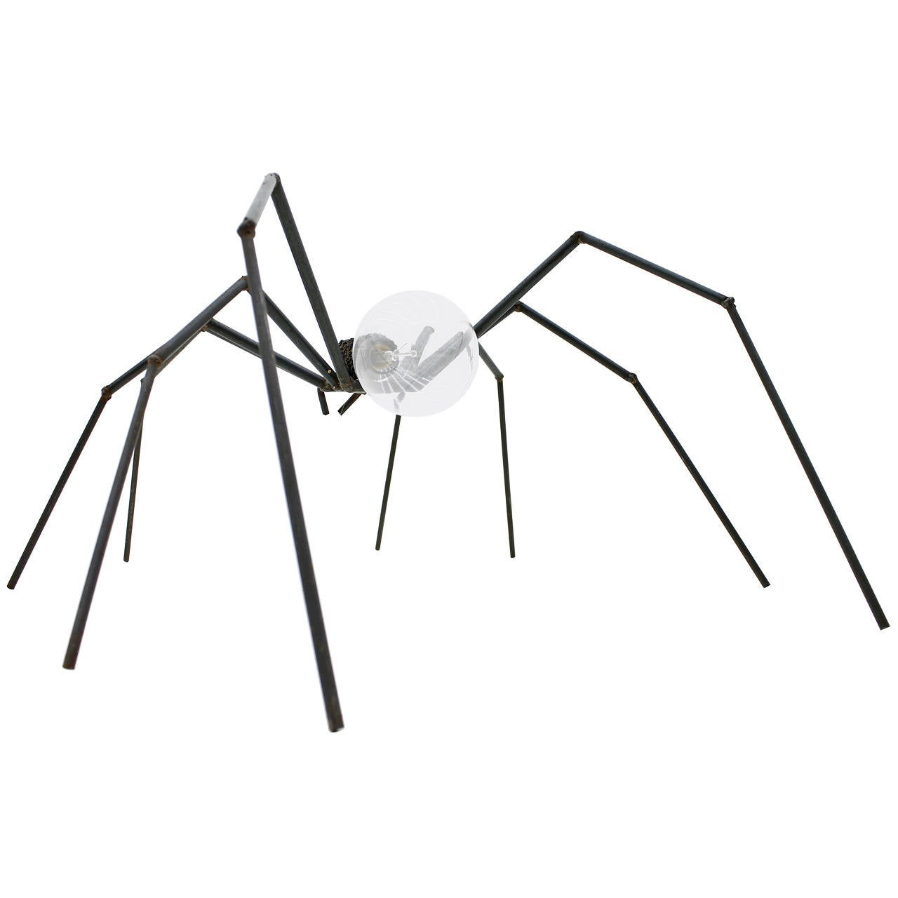 brutalist spider floor or table lamp  circa 1970s at 1stdibs