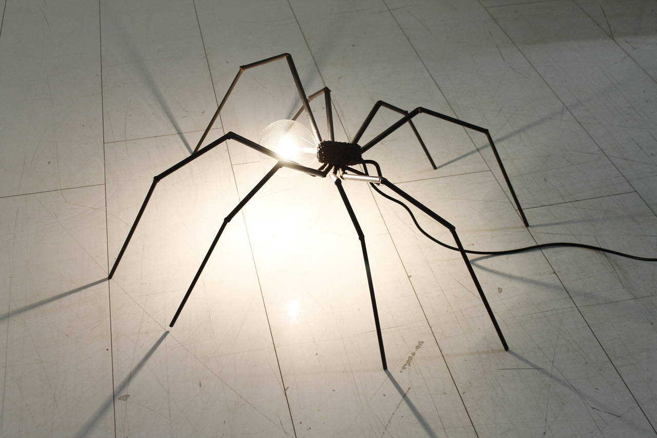 Brutalist Spider Floor or Table Lamp, circa 1970s 2