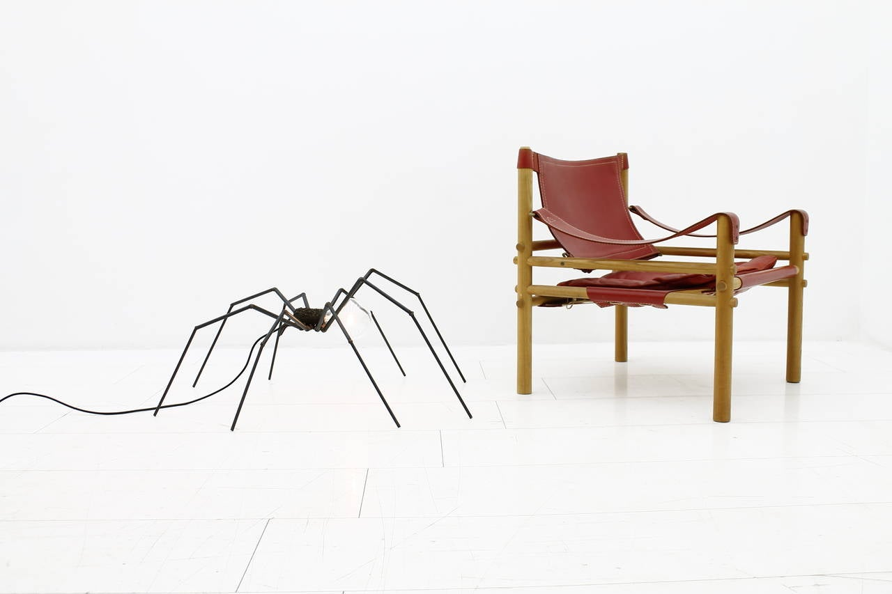 Brutalist Spider Floor or Table Lamp, circa 1970s 4