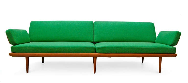 Sofa by peter hvidt and orla m lgaard nielsen minerva teak for Designer chairs from the 60s