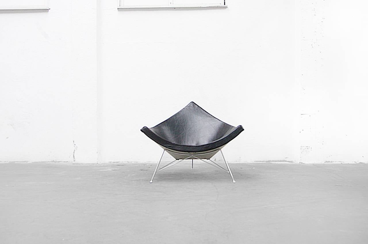 Early Coconut Chair By George Nelson For Herman Miller 1955 At  # Muebles George Nelson