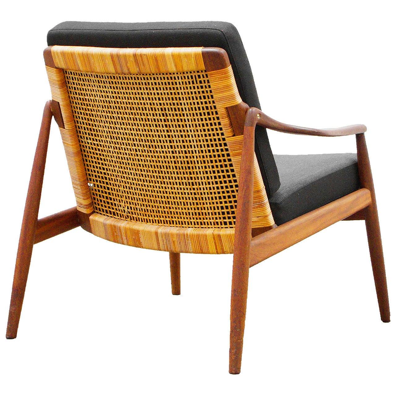 Easy Chair By Hartmut Lohmeyer For Wilkhahn Teak Mid 20th