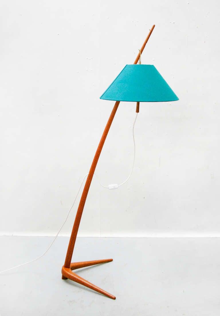 floor lamp by j t kalmar austria dornstab wiener. Black Bedroom Furniture Sets. Home Design Ideas