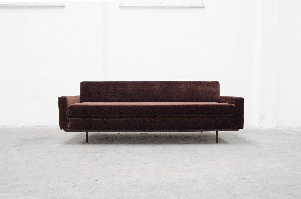 Sofa Daybed By Florence Knoll International, Mid-Century Modern Design,  1956 2
