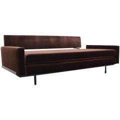 Sofa Daybed by Florence Knoll International, Mid-Century Modern Design, 1956
