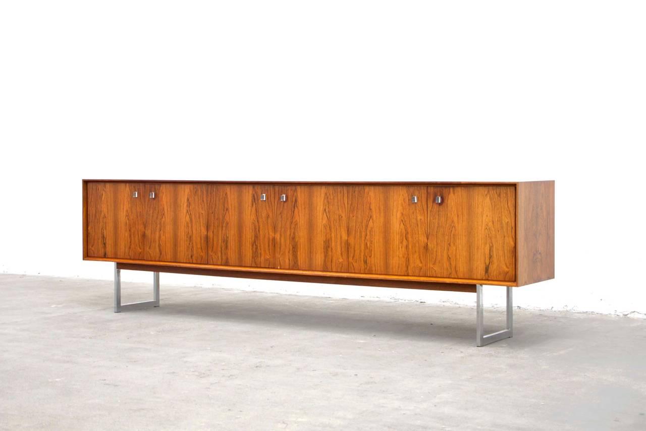 palisander or rosewood sideboard mid century modern. Black Bedroom Furniture Sets. Home Design Ideas