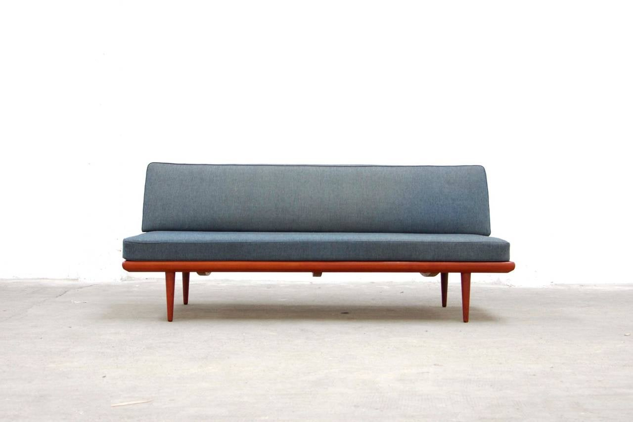 Daybed danish  Teak Sofa Daybed by Peter Hvidt for France and Son, Mid-Century ...