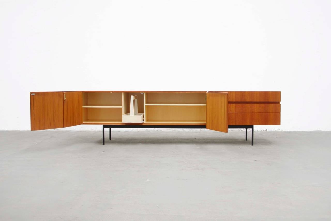 Teak sideboard b41 by dieter waeckerlin for behr mid - Sideboard mid century ...