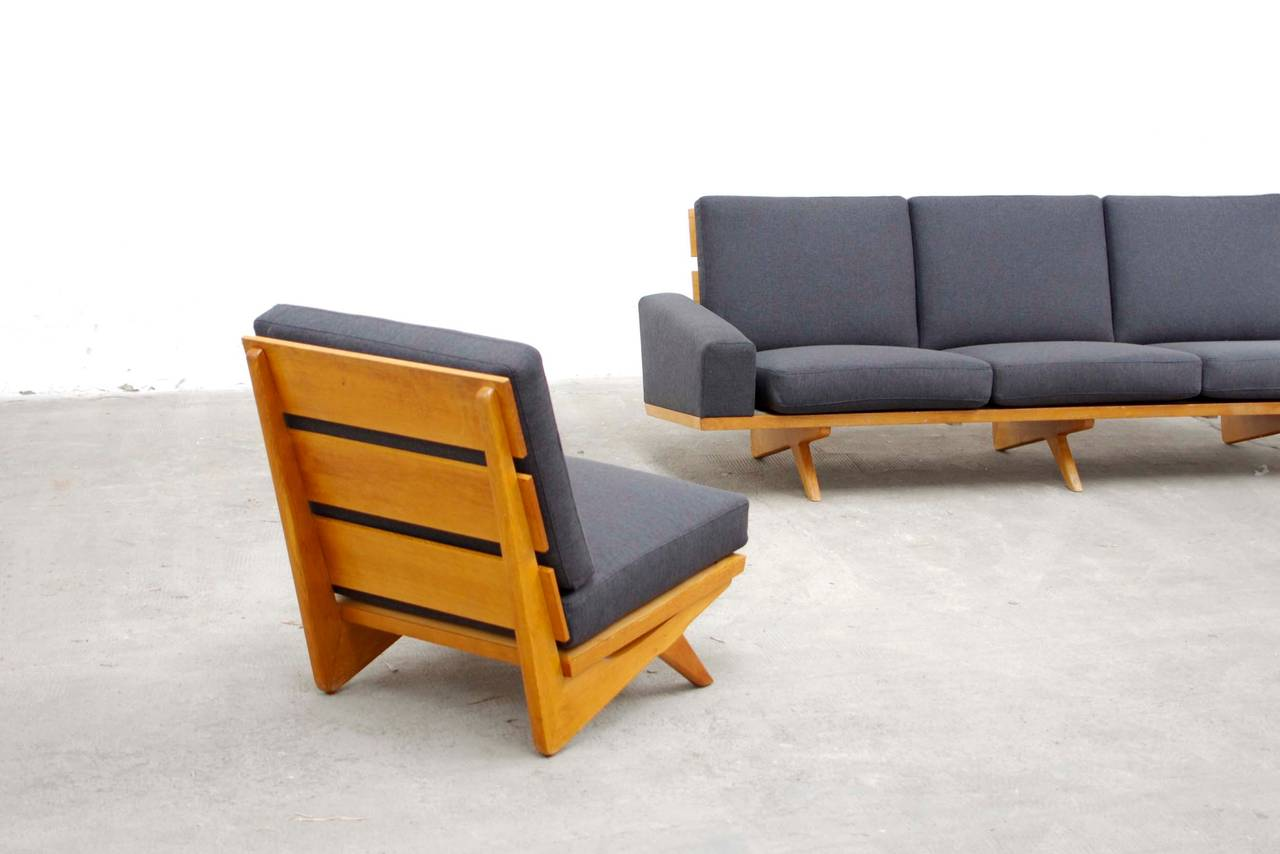 seating group by gustav thams for vejen mobler mid. Black Bedroom Furniture Sets. Home Design Ideas