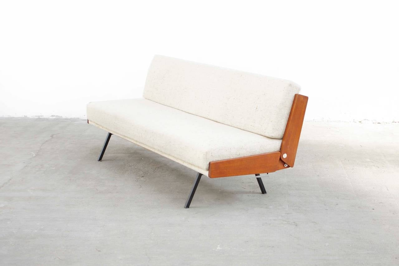 Teal Sofa Daybed by Bert Liebert Wilhelm for Knoll, Mid-Century Modern 2 - Teal Sofa Daybed By Bert Liebert Wilhelm For Knoll, Mid-Century
