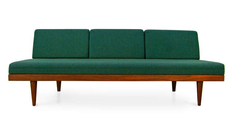 sofa daybed by swane norway teak midcentury modern 60s at 1stdibs. Black Bedroom Furniture Sets. Home Design Ideas