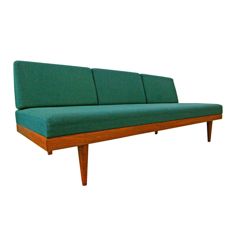Sofa Daybed By Swane Norway Teak Midcentury Modern 60s