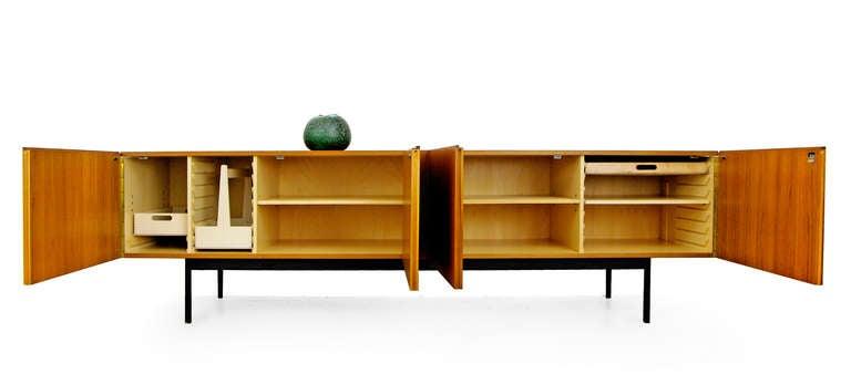 sideboard by dieter waeckerlin for behr b40 teak 1958 at 1stdibs. Black Bedroom Furniture Sets. Home Design Ideas