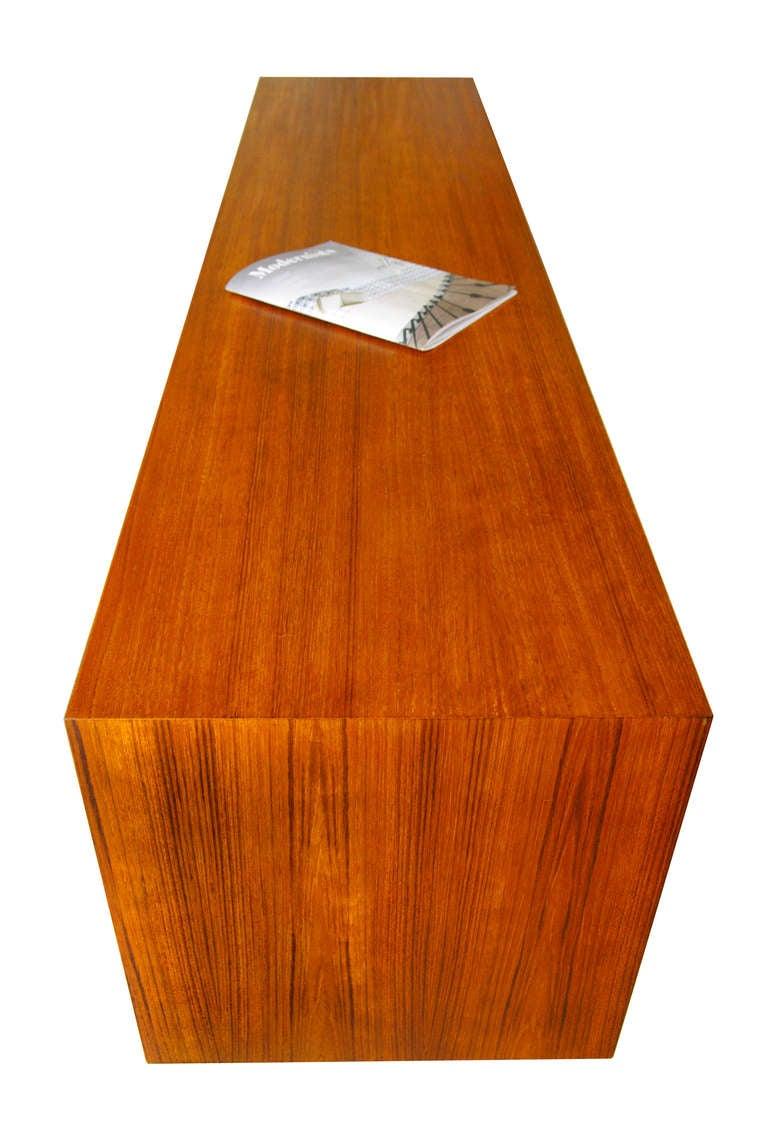 sideboard by gunni omann teak no 18 1961 danish modern 60s credenza at 1stdibs. Black Bedroom Furniture Sets. Home Design Ideas