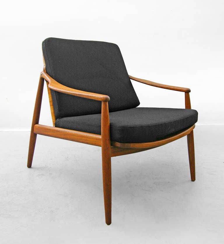 Hartmut Lohmeyer Suite For Wilkhahn Teak Sofa Easy Chair