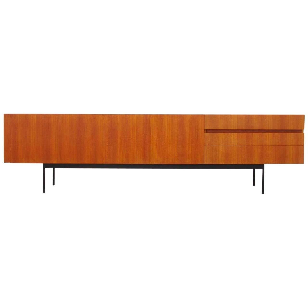 teak sideboard b41 by dieter waeckerlin for behr mid century modern design at 1stdibs. Black Bedroom Furniture Sets. Home Design Ideas