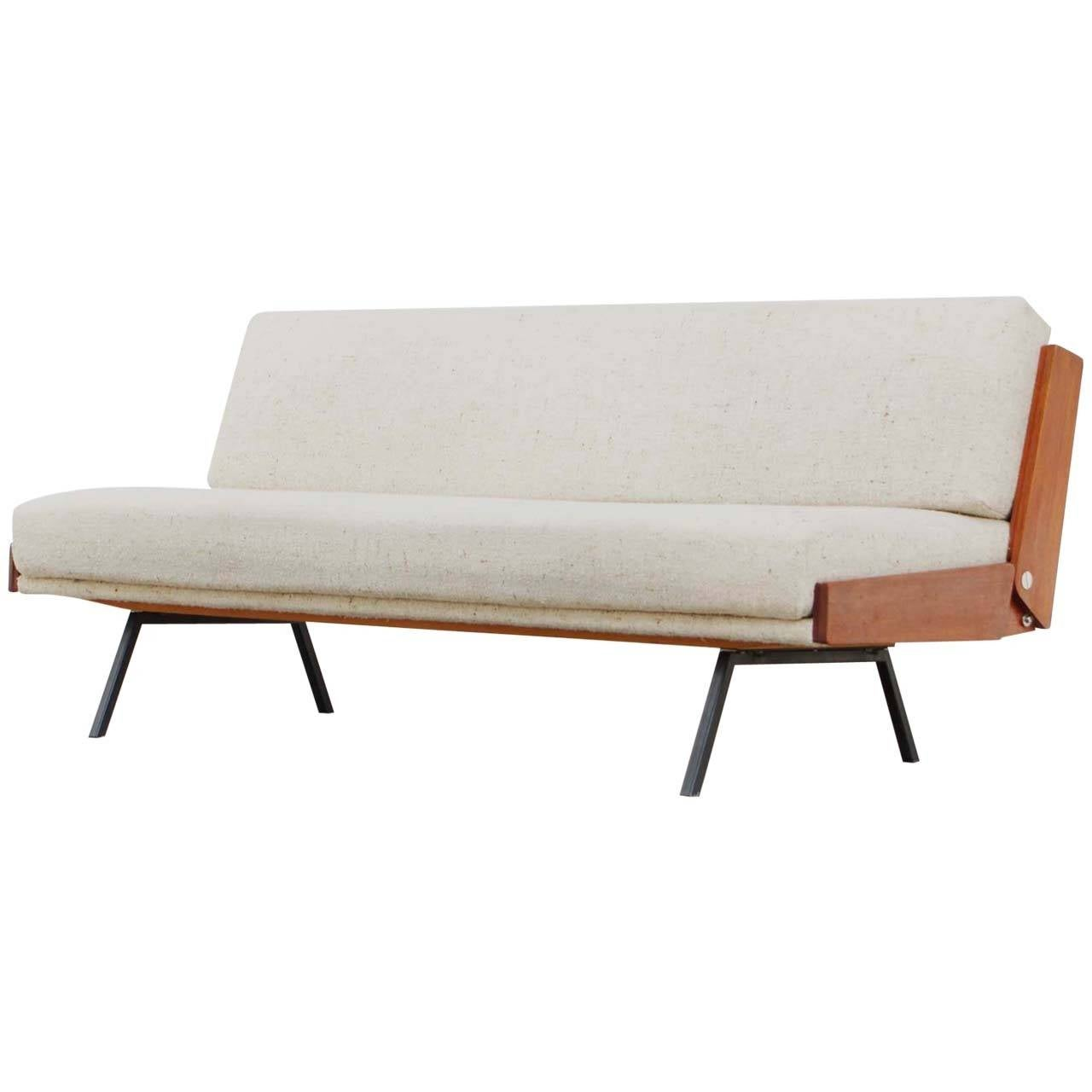 Teal Sofa Daybed by Bert Liebert Wilhelm for Knoll, Mid-Century ...