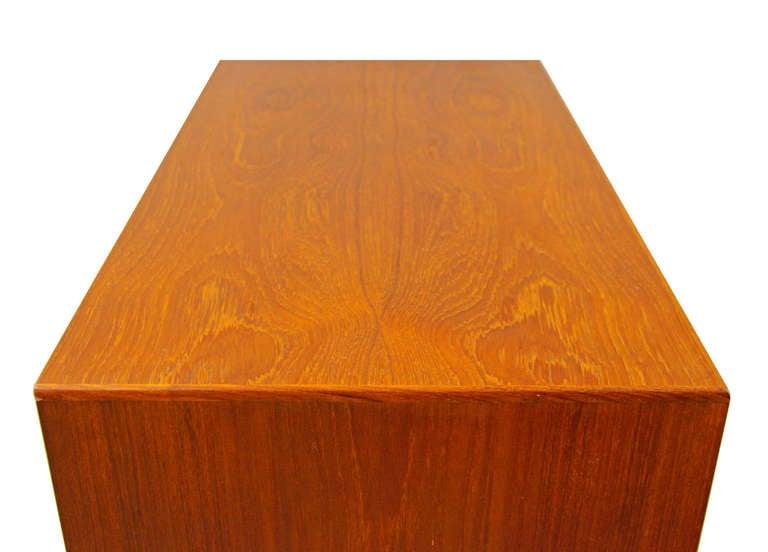 chest of drawers by poul volther f17 teak fdb m bler. Black Bedroom Furniture Sets. Home Design Ideas