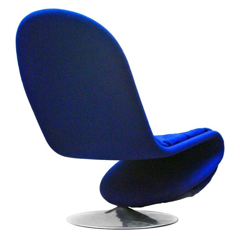 Lounge Chair by Verner Panton System 1-2-3 1