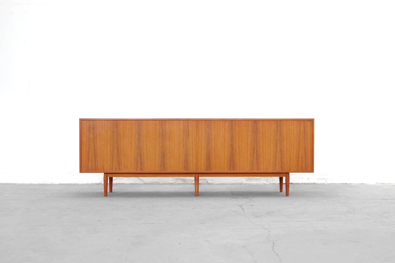 Sideboard by Arne Vodder for Sibast Model 76 Teak Credenza, Danish Modern Design at 1stdibs