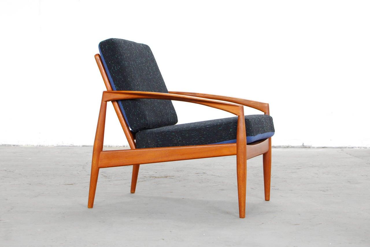 Teak Easy Chairs by Kai Kristiansen Danish Mid Century