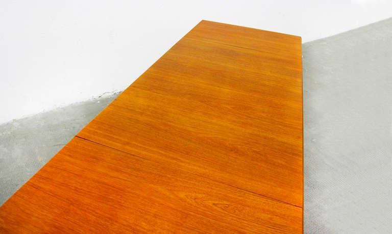 Esstisch Danish Teak ~ Dining table by Ejnar Larsen Teak drop leaf Mid Century Danish Modern 60s 60e