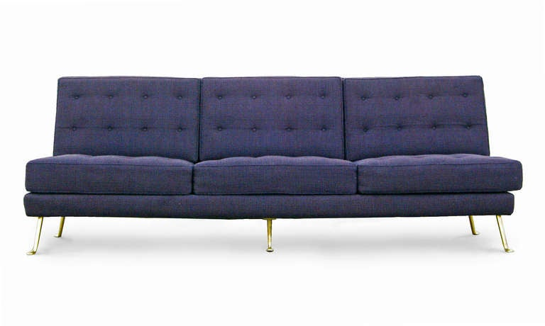 sofa mid century modern design italy 60s 3 seater 60er. Black Bedroom Furniture Sets. Home Design Ideas