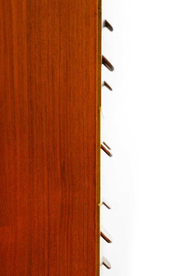 Chest of drawers by poul volther f17 teak fdb m bler for Kommode asia style
