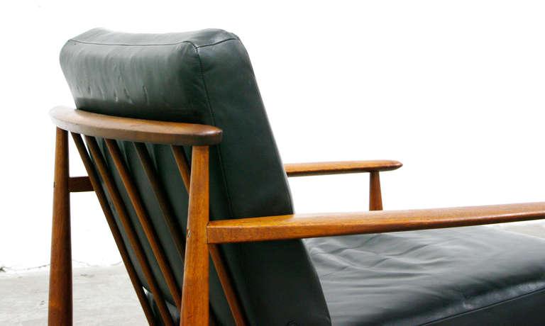2 easy chair mid century danish modern design teal for 60s chair design
