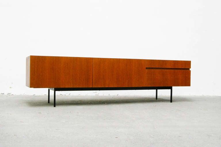 Sideboard by dieter waeckerlin for behr b43 in teak 1958 for Sideboard 40er