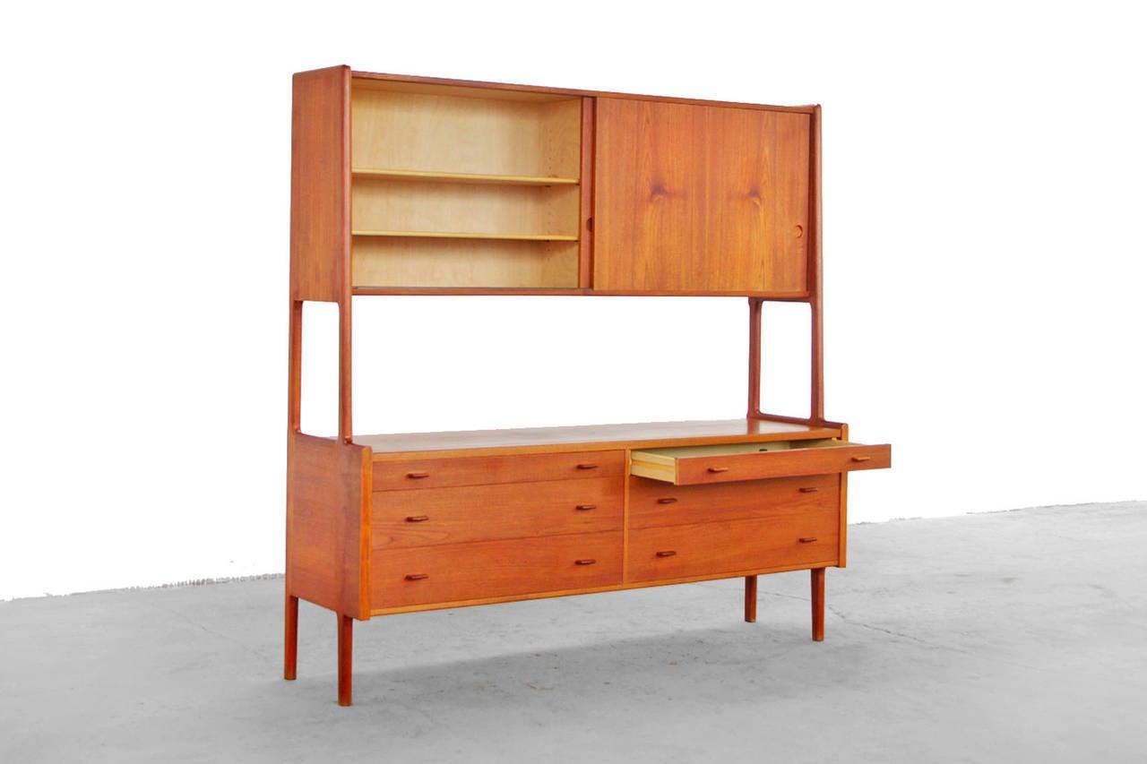 Highboard Design hans wegner teak buffet highboard mid century modern design