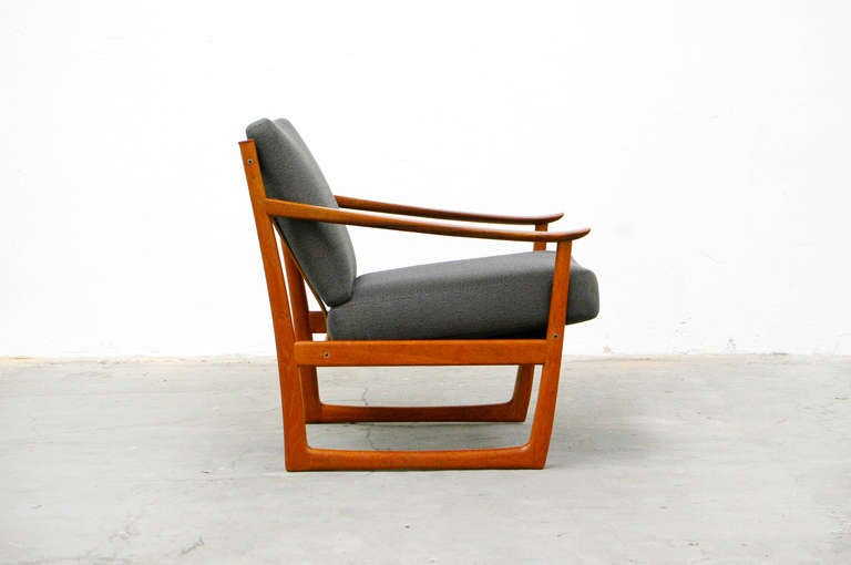 Easy Chair By P Hvidt FD 130 France And Son Teak Mid