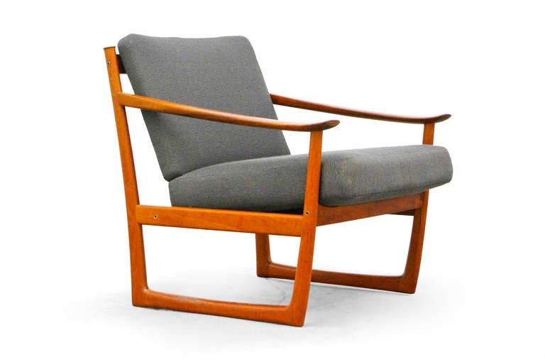 easy chair by p. hvidt, fd 130, france and son teak mid century, Hause deko
