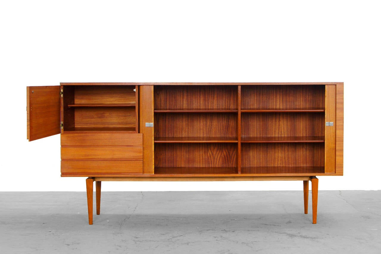 Sideboard Und Highboard ~ Mid century modern teak credenza by h w klein for bramin