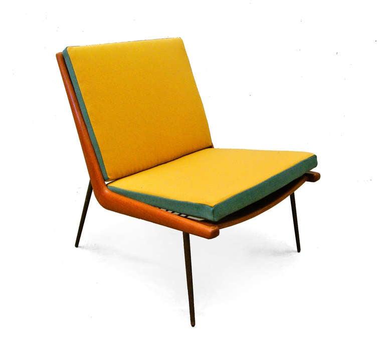 Easy Chair Boomerang Fd 134 Peter Hvidt And Orla M 248 Lgaard