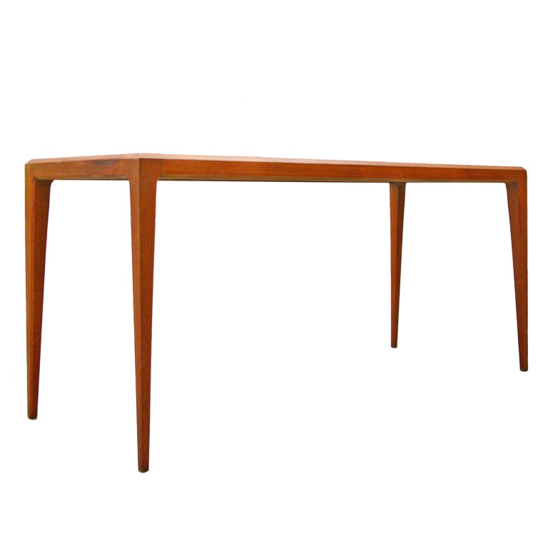 Coffee Table By Johannes Andersen Silkeborg Teak at 1stdibs