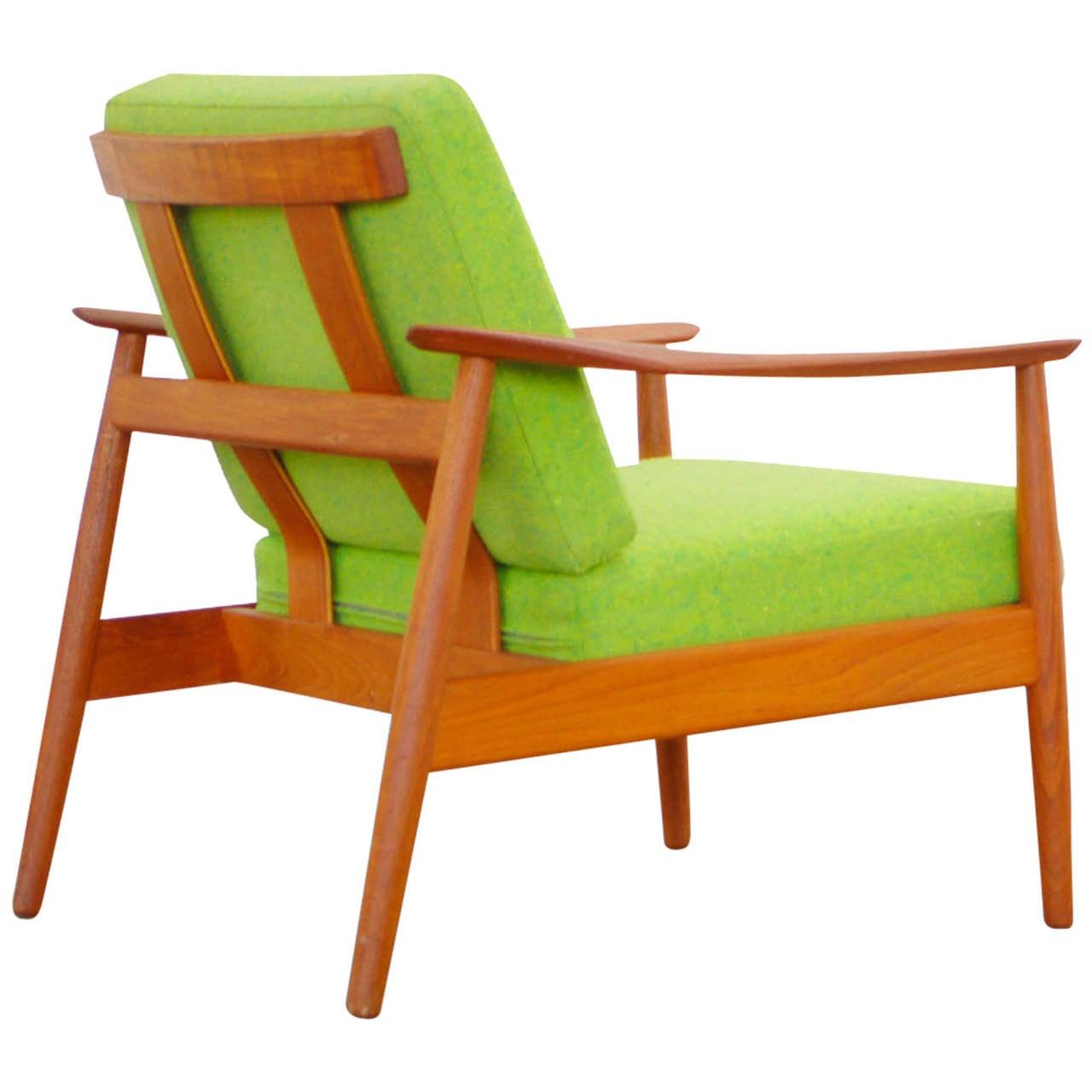 Teak easy chair by arne vodder for cado mod 164 danish modern design at 1stdibs - Danish design mobel ...