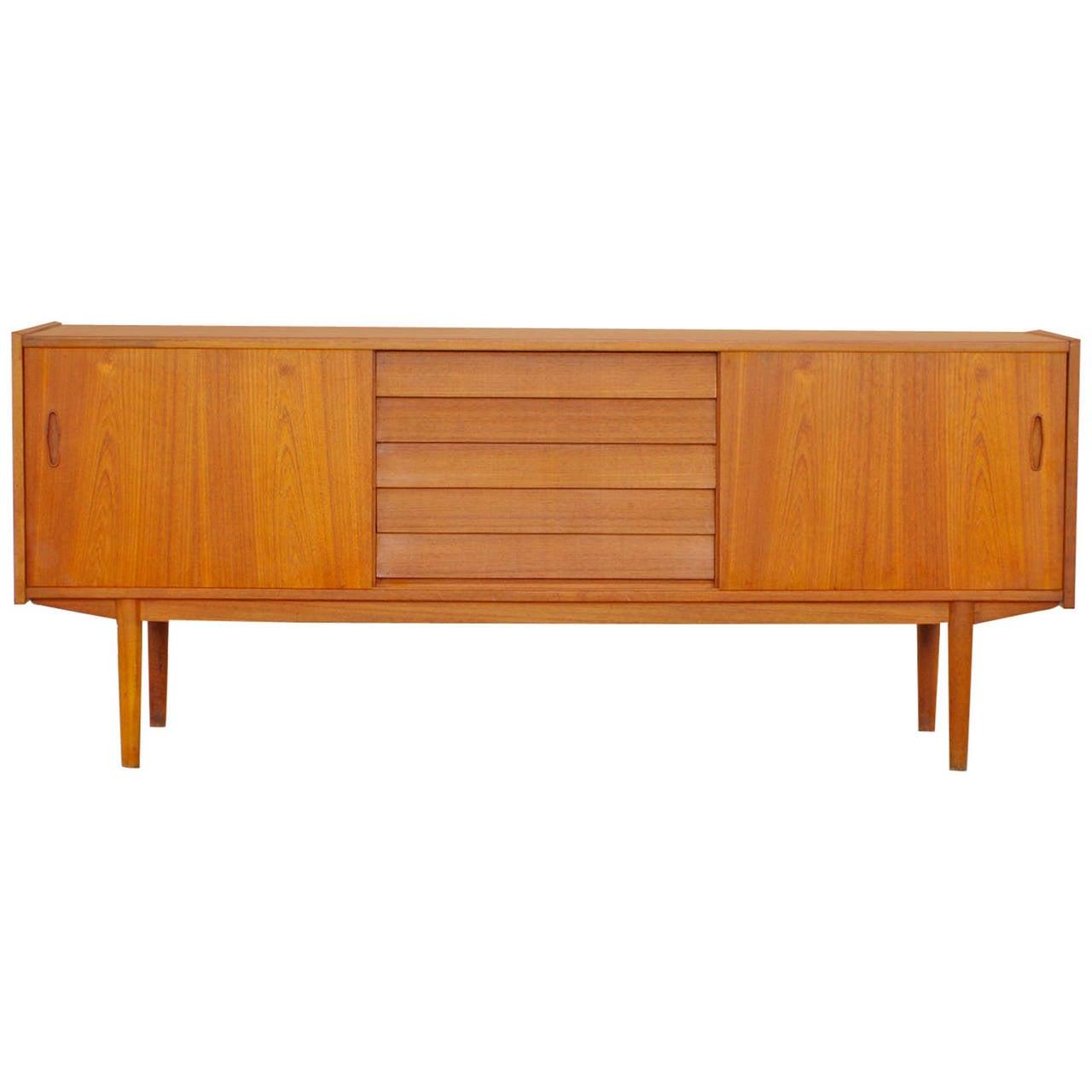 Teak sideboard by nils jonsson for troeds sweden 60s for 60s furniture design