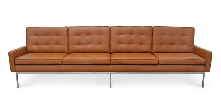 Rare 4 Seater Sofa By Florence Knoll International At 1stdibs