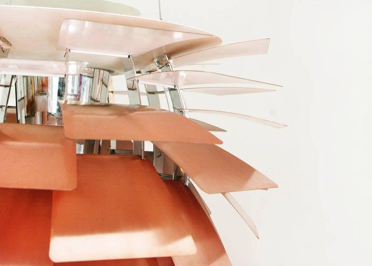 mid century modern design lamp by poul henningsen ph. Black Bedroom Furniture Sets. Home Design Ideas