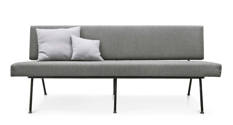 sofa by florence knoll international model no 32 at 1stdibs. Black Bedroom Furniture Sets. Home Design Ideas