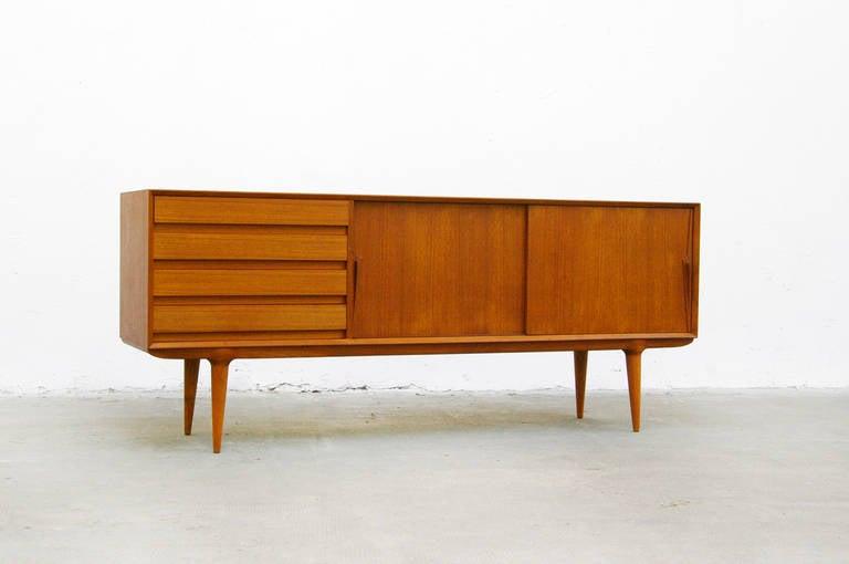 Sideboard by Gunni Omann No. 18 Mid Century Modern Design Teak at ...